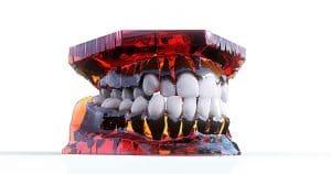 Moldagem odontológica de uma boca - Tratamento odontológico é facilitado pelo planejamento virtual